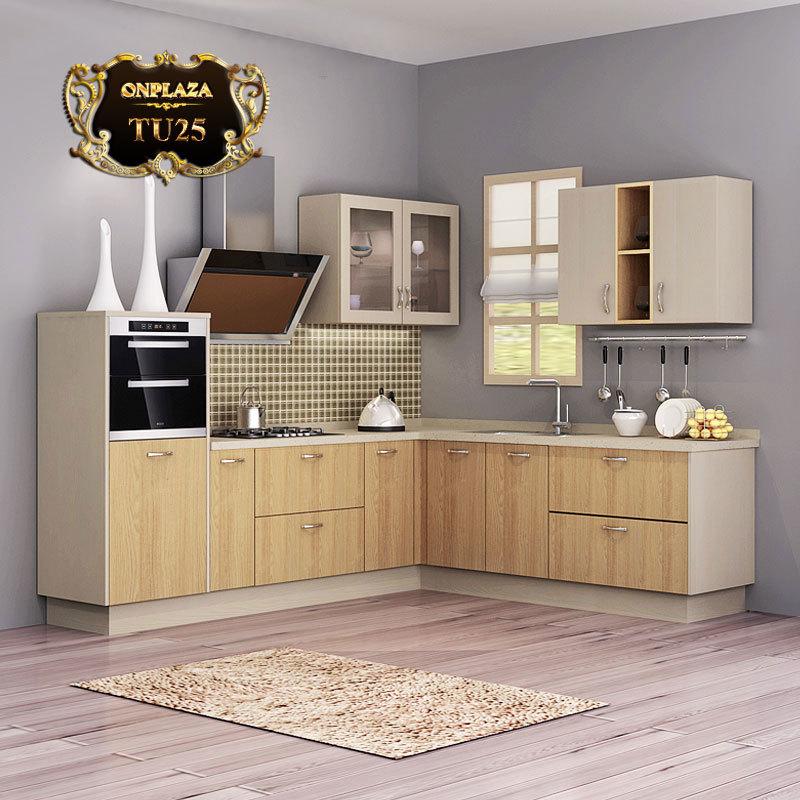 Tủ bếp cao cấp thiết kế sang trọng TU25