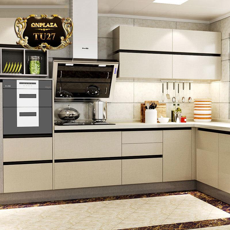 Tủ bếp thiết kế cao cấp cho phòng bếp sang trọng TU27