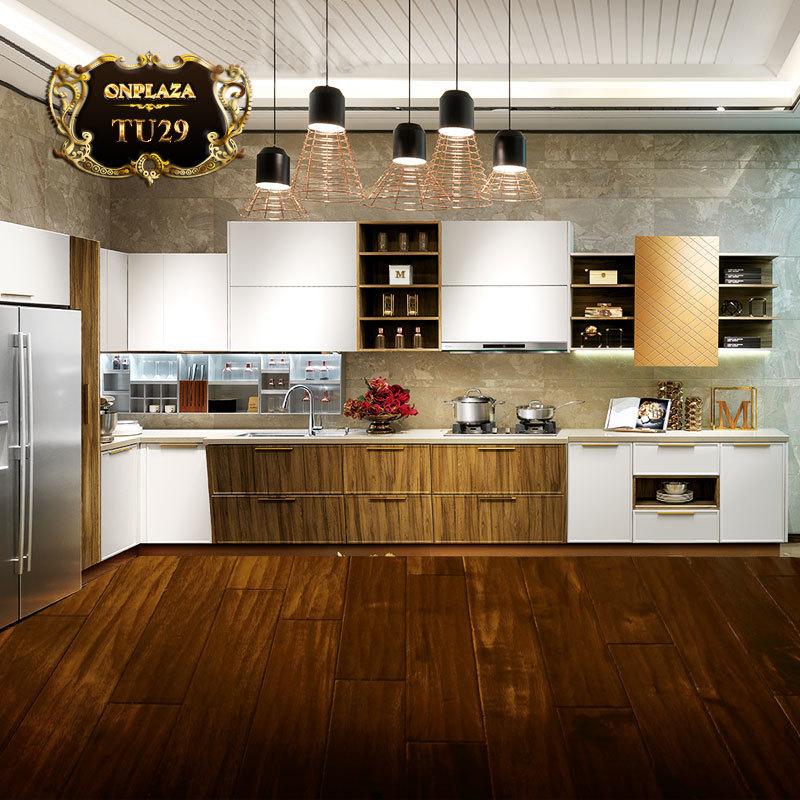 Tủ bếp thiết kế sang trọng châu âu TU29