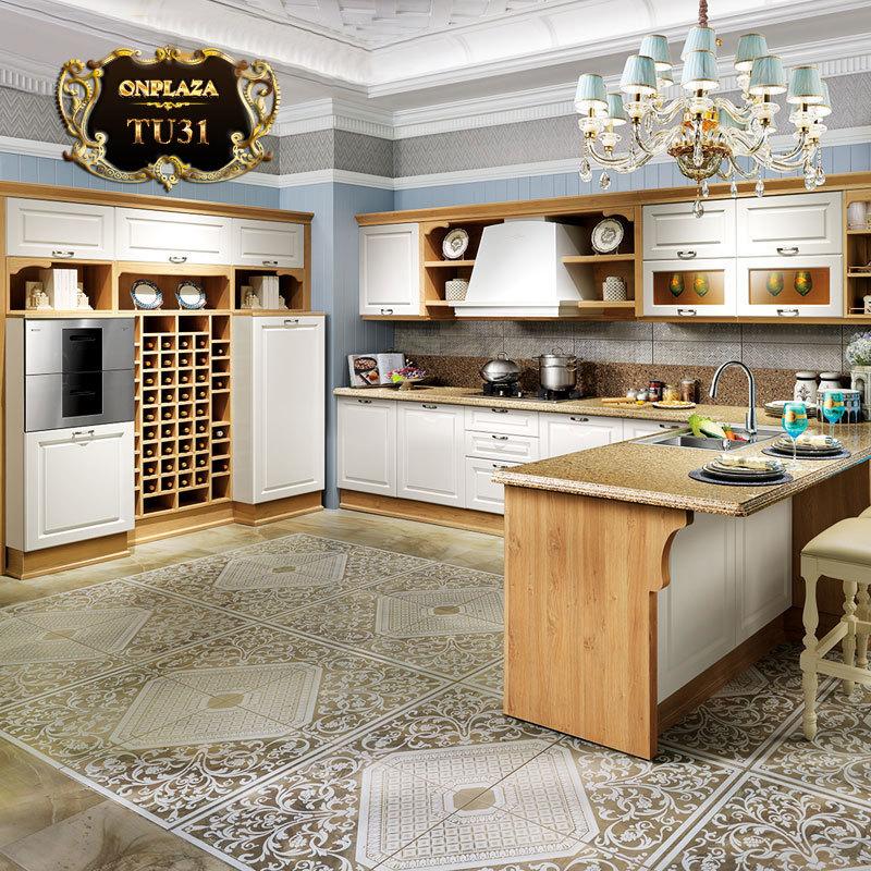 Tủ bếp phong cách thiết kế Châu Âu TU31