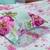 Bộ vỏ chăn ga gối đẹp CG024 họa tiết Hoa Hồng nền xanh