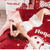 Bộ chăn ga gối đệm dành cho bé CG083 kiểu Hello Kimi Màu Đỏ