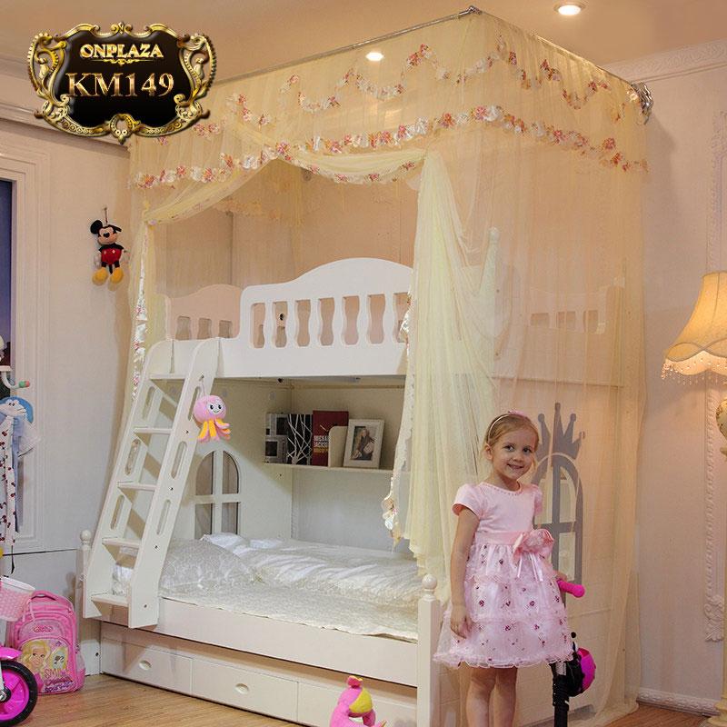 Bộ màn khung trẻ em dành cho giường tầng KM149