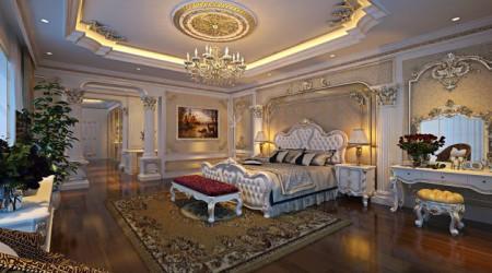 Gợi ý thiết kế phòng ngủ cổ điển, tân cổ điển sang trọng - đẳng cấp