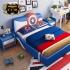 Bộ giường ngủ bọc da siêu anh hùng Captain America G130