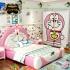 Bộ giường ngủ kiểu dáng chú mèo máy Doraemon thông minh G127