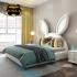 Bộ giường tai thỏ kiểu dáng hiện đại sang trọng G126
