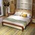 Bộ giường ngủ gỗ phong cách Địa Trung Hải G158