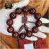 Vòng tay phong thủy gỗ Nu Tử Đàn 20 ly V01