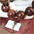 Vòng tay phong thủy gỗ Nu Tử Đàn 20 ly sang trọng V02