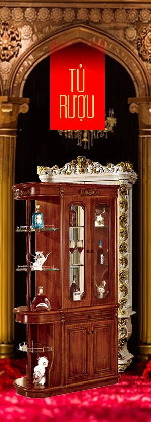 Tủ rượu - Tủ đồ trang trí