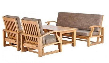 Tuyển tập các bộ bàn ghế gỗ phòng khách giá rẻ đẹp dưới 6 triệu