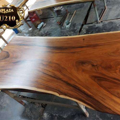 Mặt bàn âm nguyên bìa gỗ Me Tây LU210