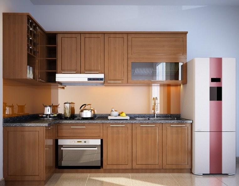 Thiết kế này thích hợp cho những căn bếp có diện tích không quá rộng
