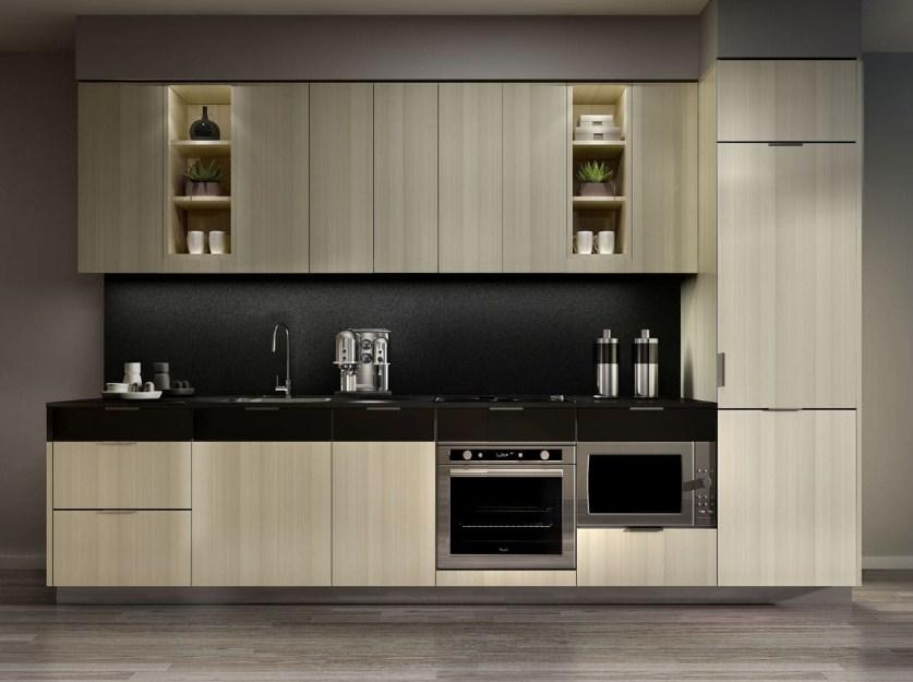Không gian căn bếp rộng rãi hơn với mẫu tủ bếp độc đáo này