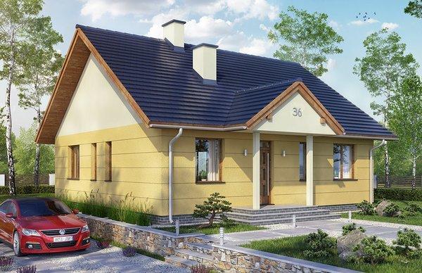 Nhà mái thái cấp 4 có thể xây ở nông thôn hoặc thành thị
