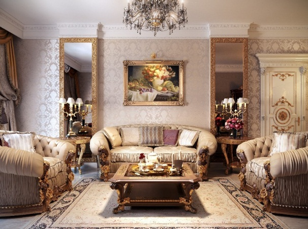 Các mẫu ghế sofa bọc nỉ phòng khách cao cấp tại showroom nội thất Onplaza