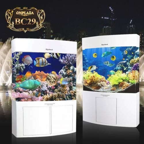 Bể cá thủy sinh thông minh loại có chân (tủ 1 cánh) BC29-1