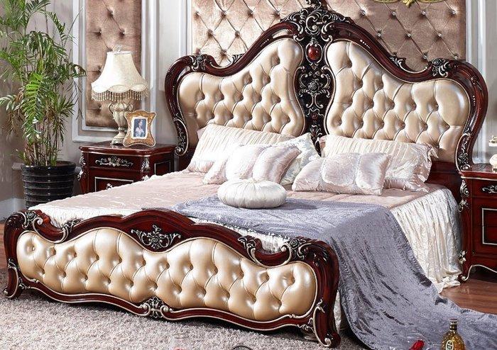 Mẫu giường hoàng gia với phong cách cổ điển