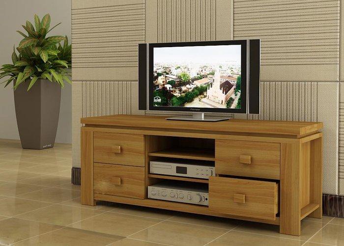 Kích thước của kệ tivi nhỏ gọn hợp với chung cư nhỏ