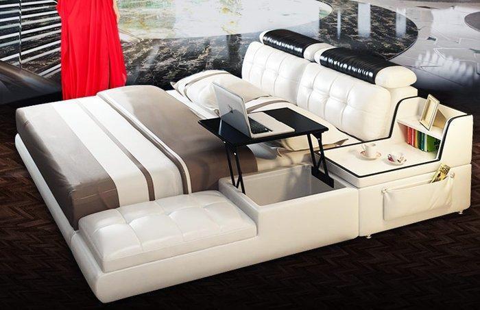 Giường ngủ đa năng tiện ích kết hợp bàn làm việc đa năng