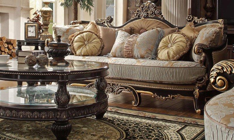 Mẫu bàn ghế sofa cổ điển xuất hiện ở nhiều nước Châu Âu