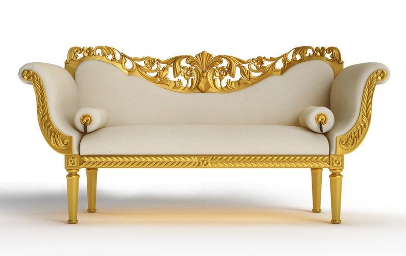 Sofa đơn cổ điển mang tính nghệ thuật cao