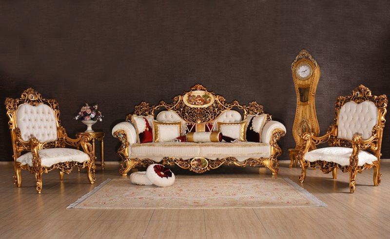 Bộ sofa hoàng gia phong cách sang trọng bậc nhất hiện nay