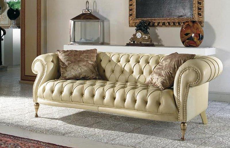 Ghế sofa đôi cổ điển nhập khẩu từ Châu Âu