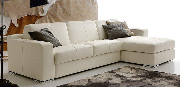Sofa bọc da cho phòng khách nhỏ