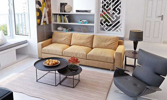 Mẫu sofa thiết kế đơn giản nhưng thể hiện được vẻ đẹp riêng