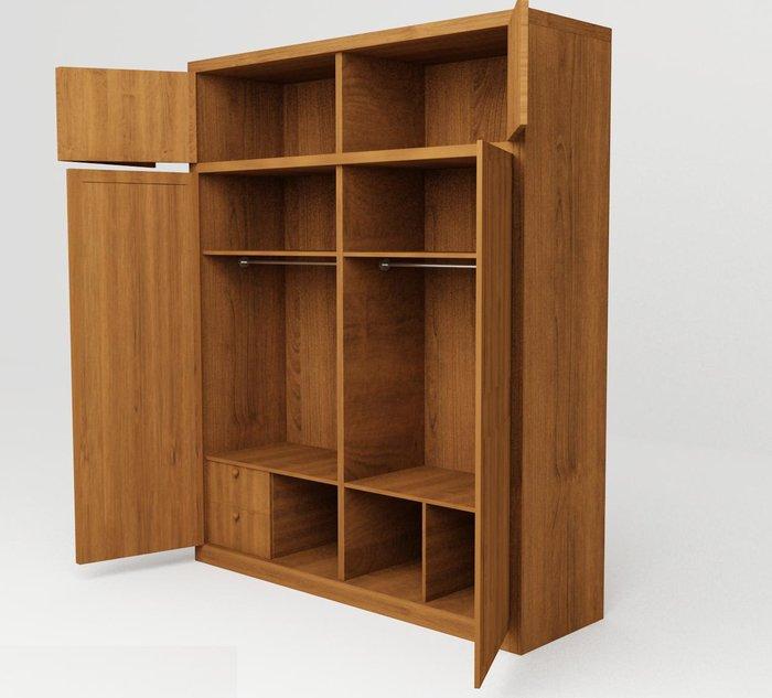 Ảnh 2: Tủ quần áo giá rẻ thiết kế nhiều ngăn rất tiện dụng (Nội thất Thịnh Phát Việt)