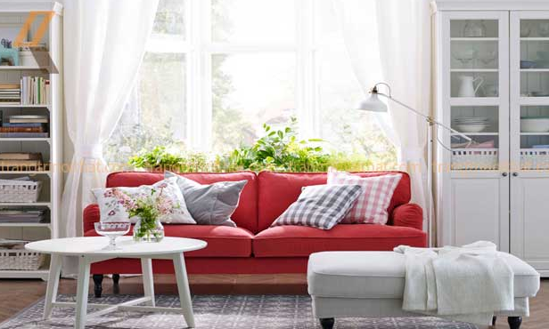 Mẹo trang trí ghế sofa hiện đại kết hợp với các món đồ nội thất khác cho phòng khách nhỏ
