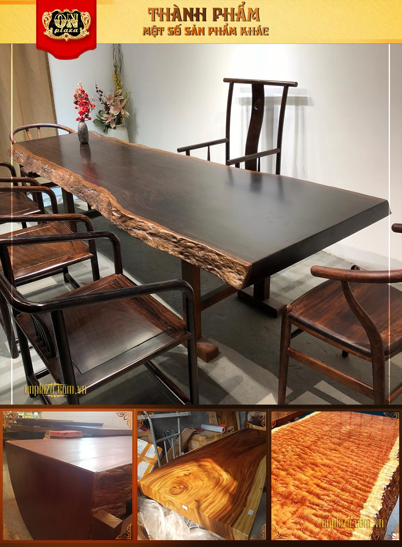 Bàn ghế gỗ quý