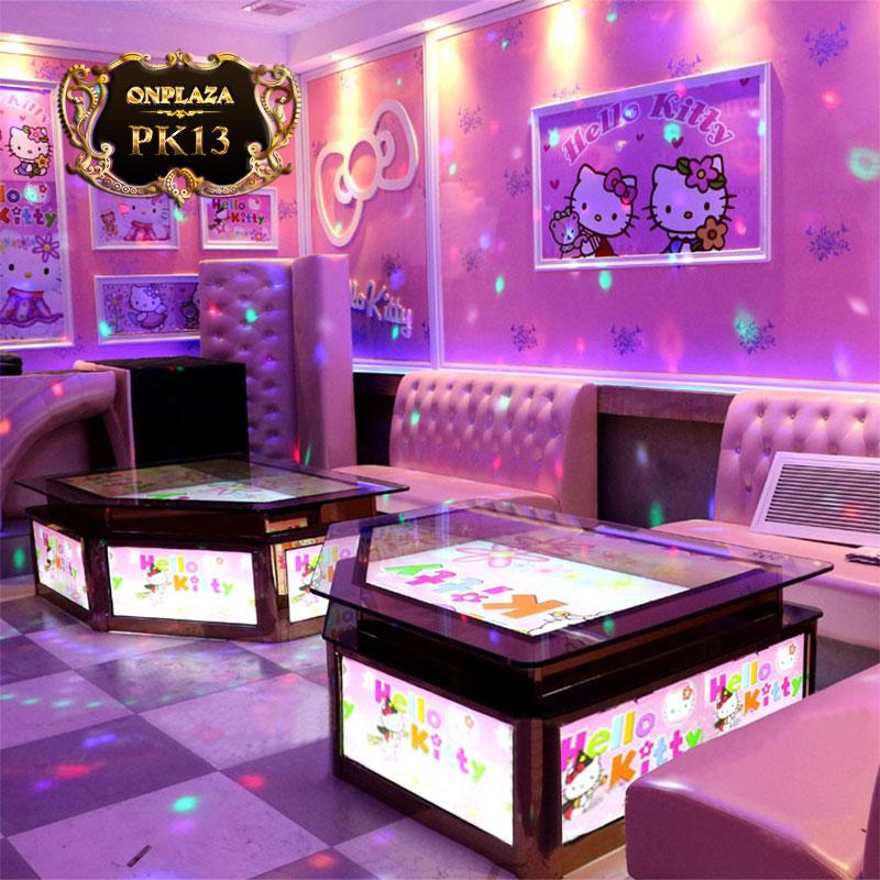 Bàn gắn đèn LED phòng karaoke hàng thiêt kế cao cấp PK13