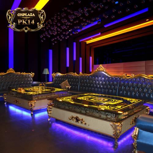 Bàn đèn led thiết kế sang trọng cho phòng karaoke, bar, cafe PK14
