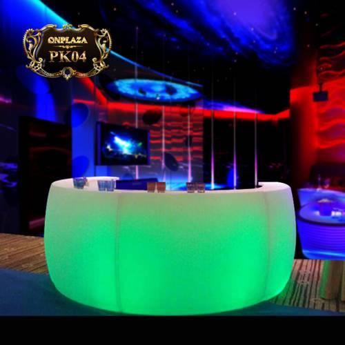 Bàn quầy bar đèn LED đổi màu cao cấp PK04