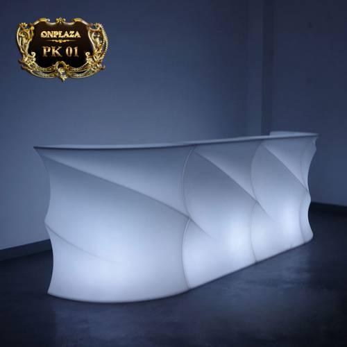 Bàn quầy bar đèn LED đổi màu cao cấp PK02