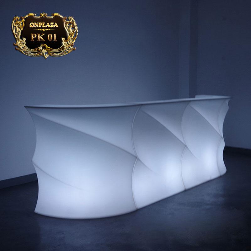 Bàn quầy bar thích hợp hệ thống đèn LED đổi màu PK02