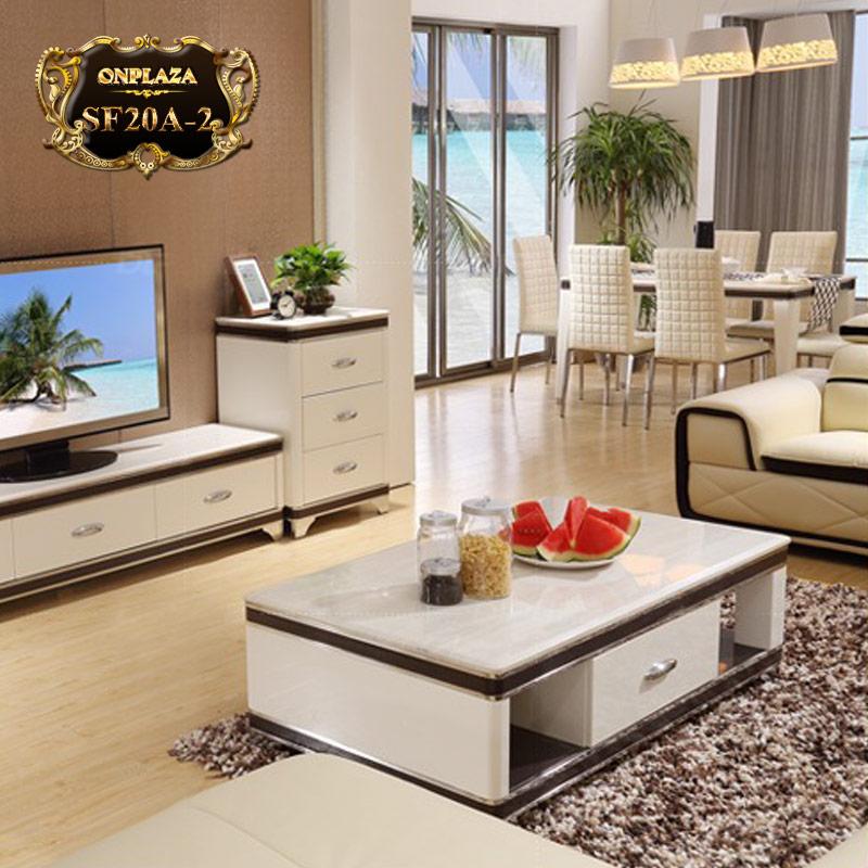 Bàn trà sofa phòng khách đẹp hiện đại SF20-2