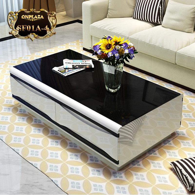 Bàn trà phòng khách nhập khẩu cao cấp SF01A-4