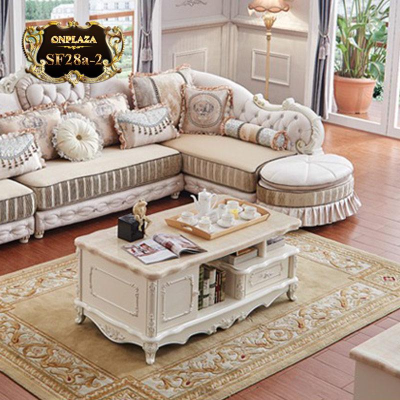 Bàn trà phòng khách tân cổ điển SF28A-2