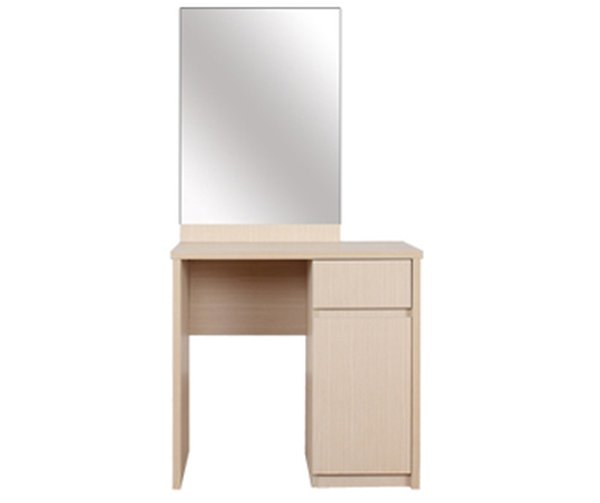Bàn trang điểm nhỏ nhắn dành cho các căn phòng có diện tích hẹp