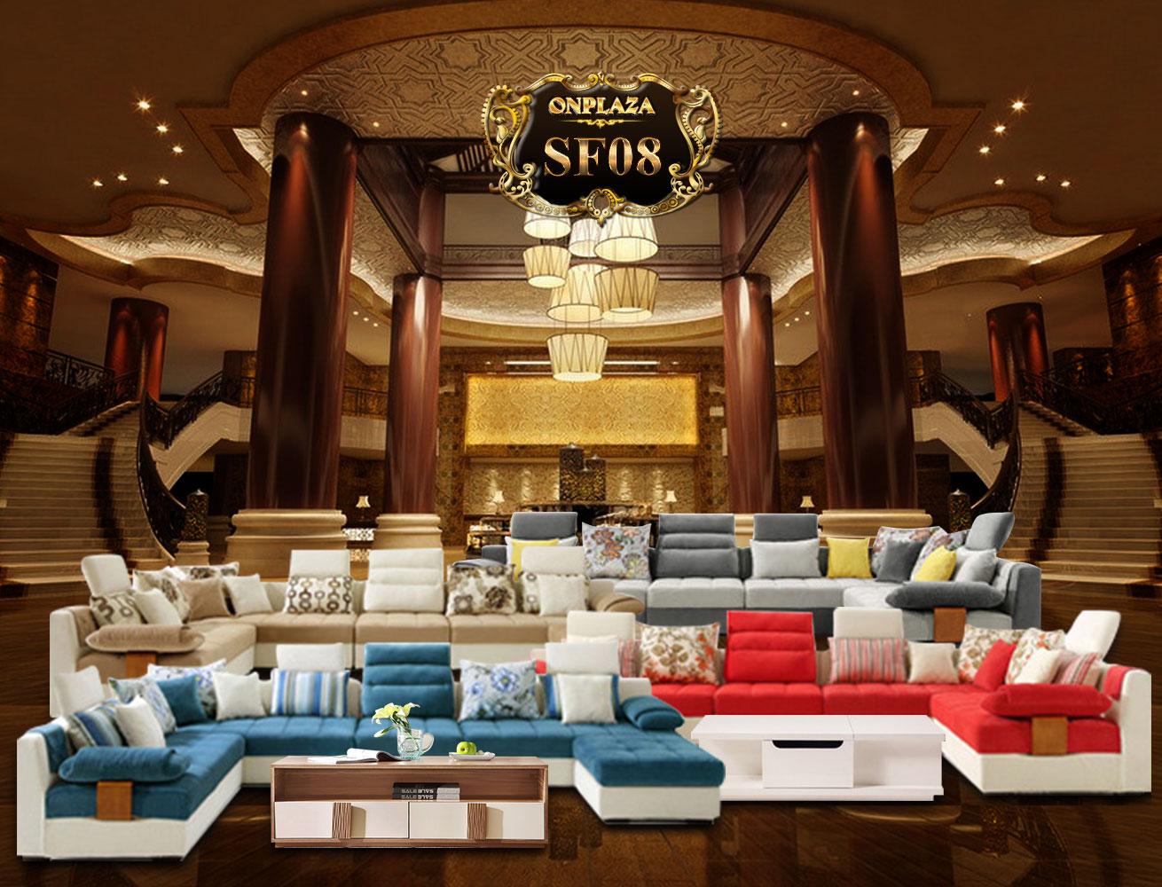 Banner bộ bàn ghế sofa cao cấp nhập khẩu SF08