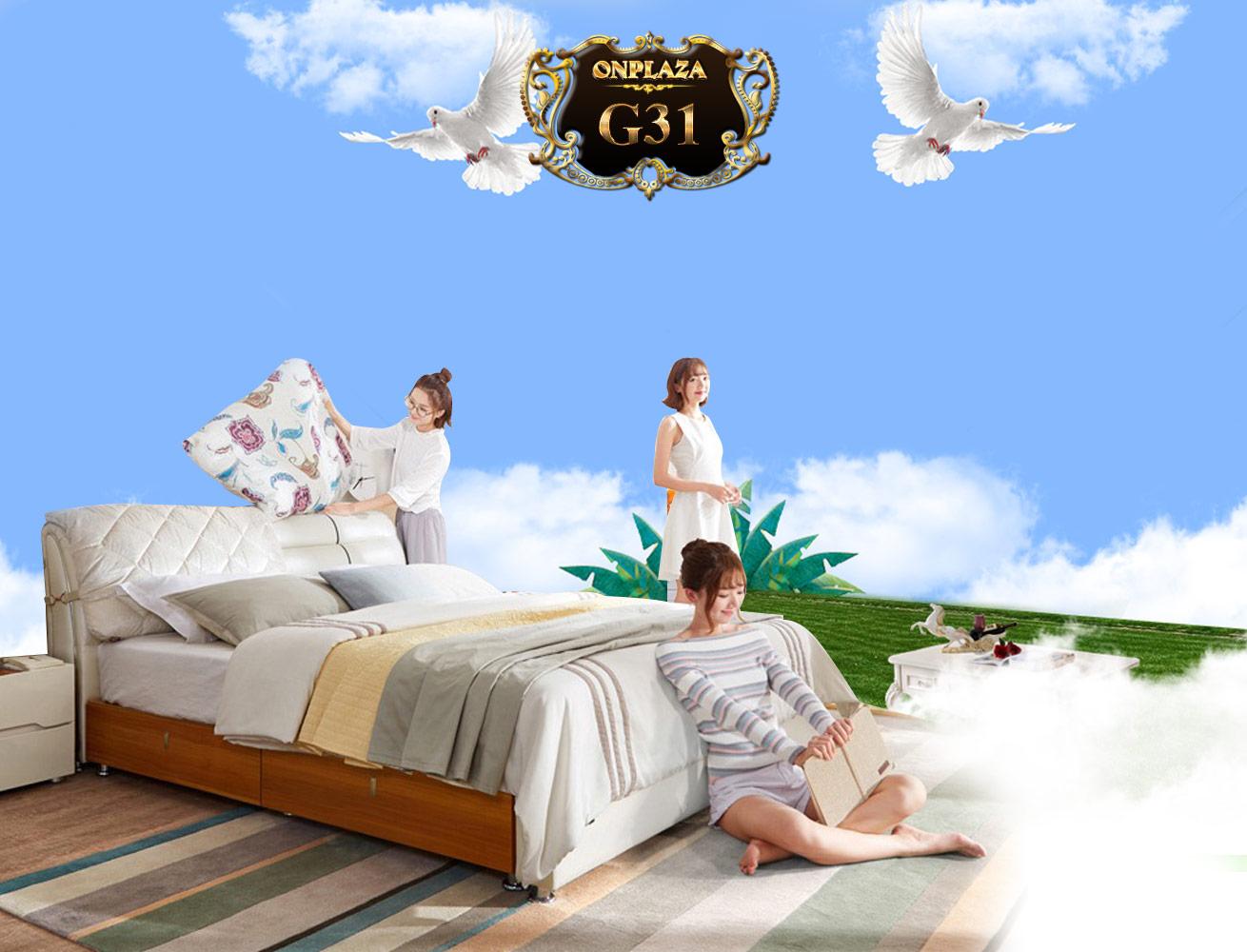 giường ngủ gỗ có ngăn kéo bọc da đầu giường cao cấp nhập khẩu giá rẻ