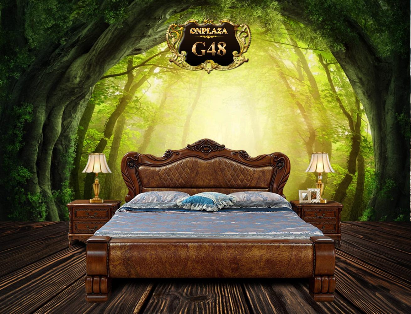 giường ngủ cổ điển Châu Âu đẹp giá rẻ