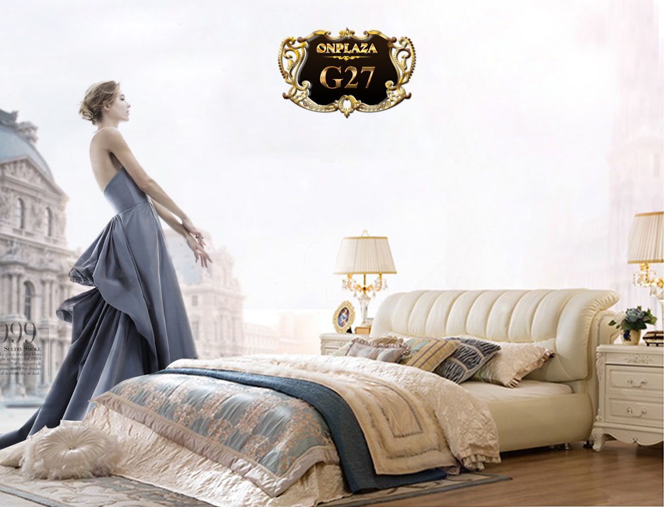 Giường ngủ bọc nệm da hiện đại G27, những mẫu giường hiện đại đẹp tại Hà Nội| Mua giường hiện đại