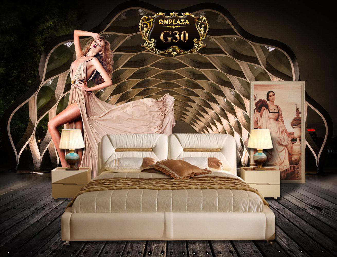 giường ngủ hiện đại giá rẻ g30