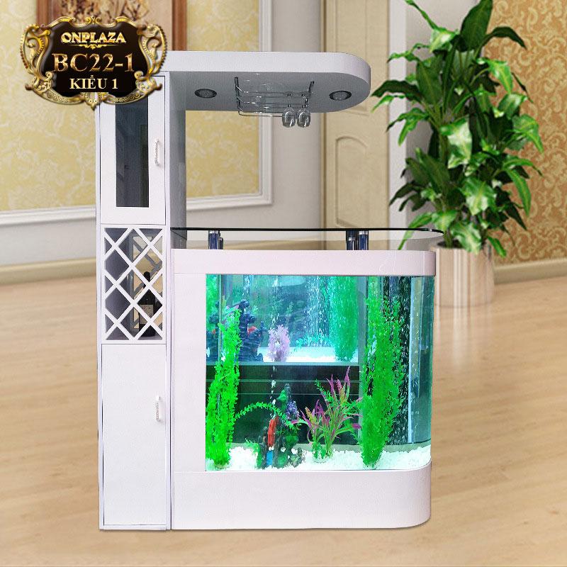 Bể cá thủy sinh cao cấp thiết kế độc đáo BC22