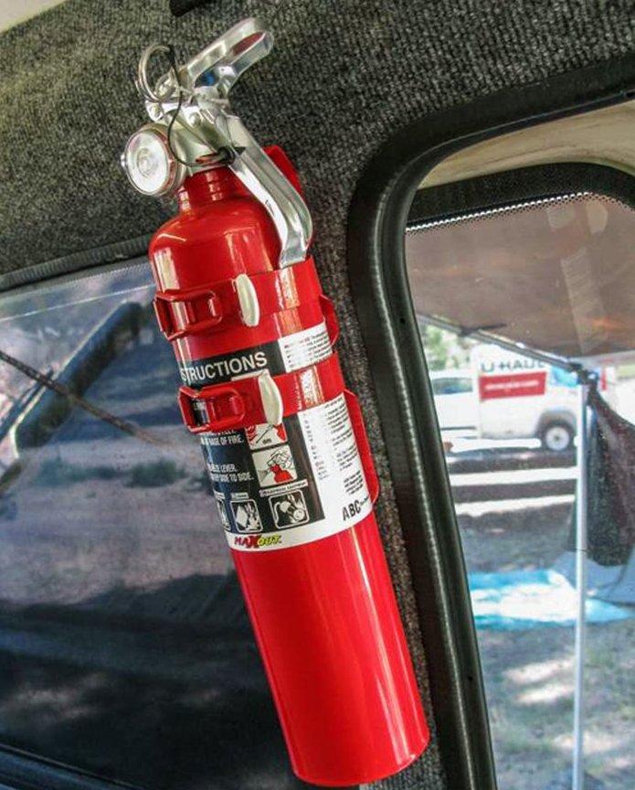 Bình chữa cháy trên xe ô tô